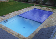 Blue Swimming Pool Cover
